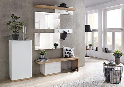 dielenm bel online kaufen hochwertige dielenm bel f r ihren flur und ihre diele. Black Bedroom Furniture Sets. Home Design Ideas