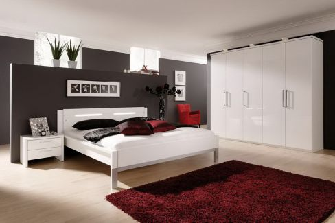 schlafzimmer set wei brombeer burano von rauch m bel letz ihr online m belhaus. Black Bedroom Furniture Sets. Home Design Ideas