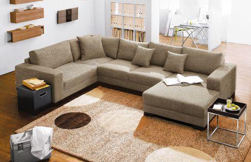 lagos livigno von candy wohnlandschaft sand polsterm bel g nstig online kaufen sofa couch. Black Bedroom Furniture Sets. Home Design Ideas