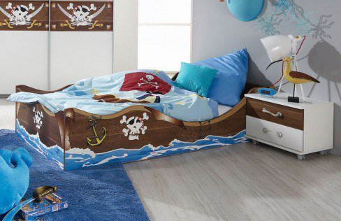 kinderzimmer drake motivdruck pirat von rauch m bel letz ihr online shop. Black Bedroom Furniture Sets. Home Design Ideas