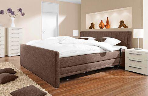 boxspringbett mit motor von femira in taupe m bel letz ihr online shop. Black Bedroom Furniture Sets. Home Design Ideas
