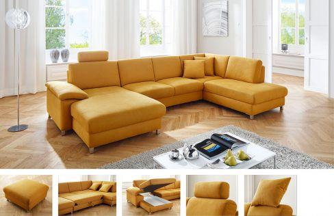 Polsterm bel von candy lifestyle m bel letz ihr online shop for Ecksofa yellow