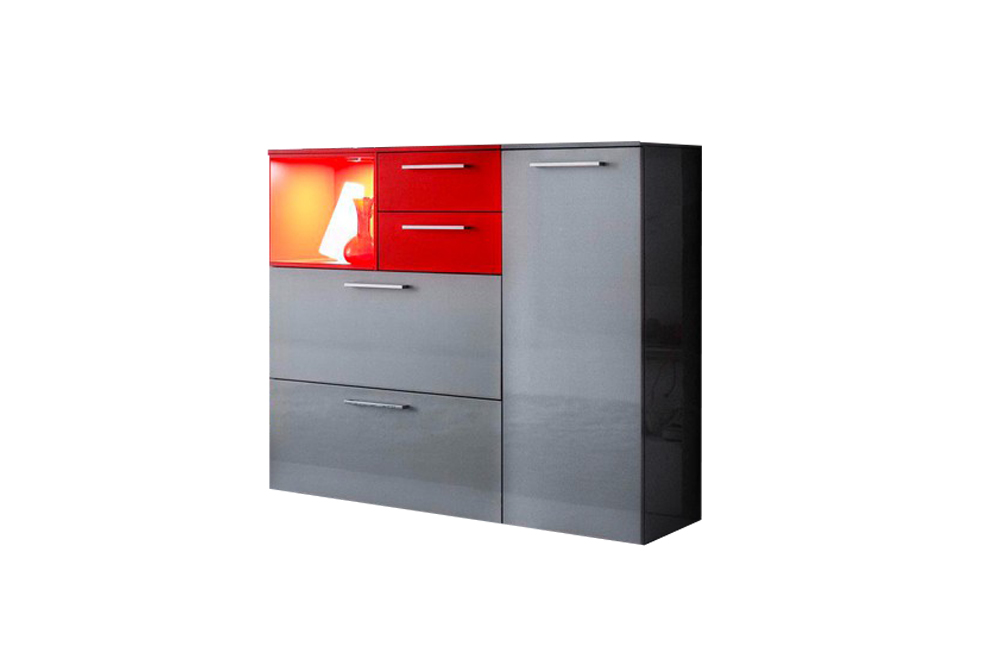 wittenbreder garderobe kesto silber rot m bel letz ihr. Black Bedroom Furniture Sets. Home Design Ideas