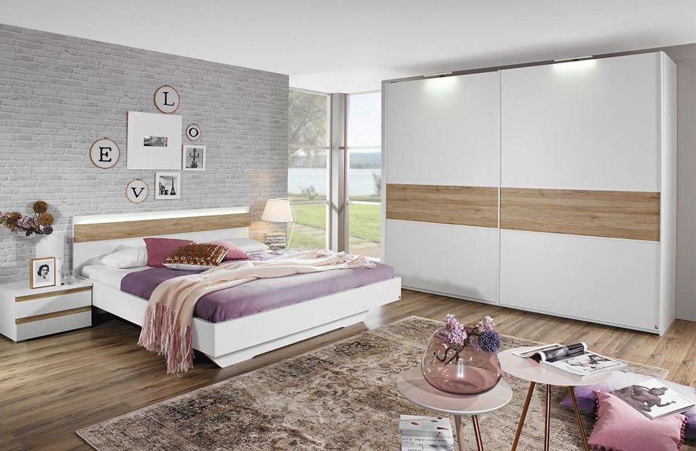 Mara von Rauch Dialog - Schlafzimmer Weiß/ Eiche Sanremo