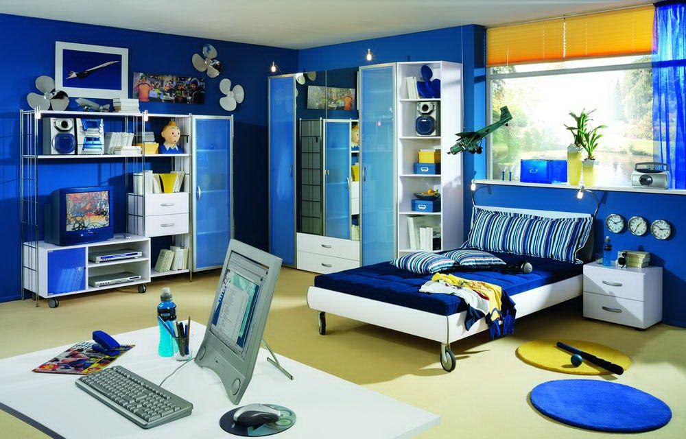 back up von welle jugendzimmer blau 2. Black Bedroom Furniture Sets. Home Design Ideas