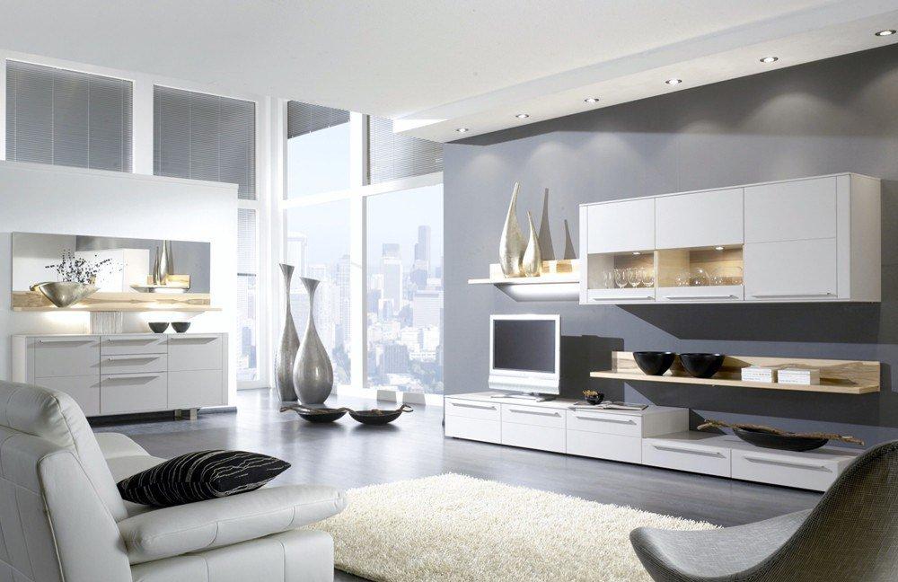 bellano von gwinner wohnwand be16 wohnzimmer online kaufen 39. Black Bedroom Furniture Sets. Home Design Ideas