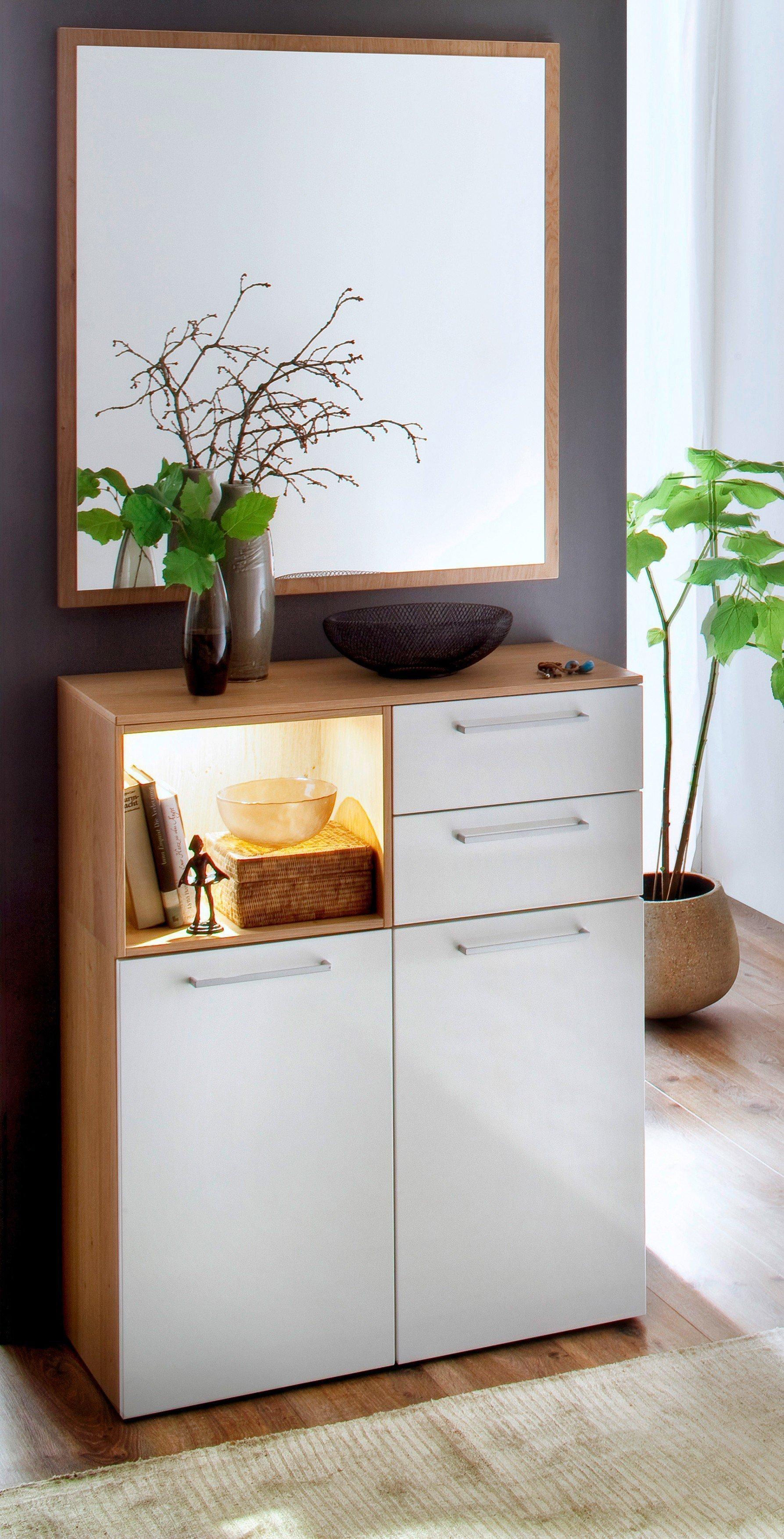 wildeiche kuche weiss hochglanz beste inspiration f r ihr interior design und m bel. Black Bedroom Furniture Sets. Home Design Ideas