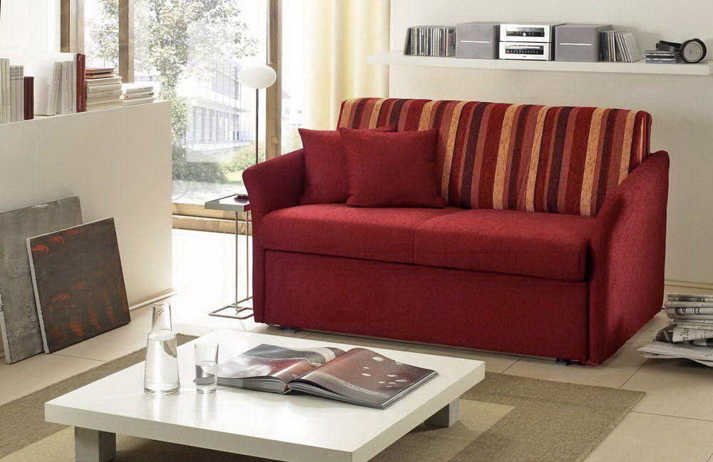 relaxa von nehl schlafsofa rot braun schlafsofas g nstig. Black Bedroom Furniture Sets. Home Design Ideas