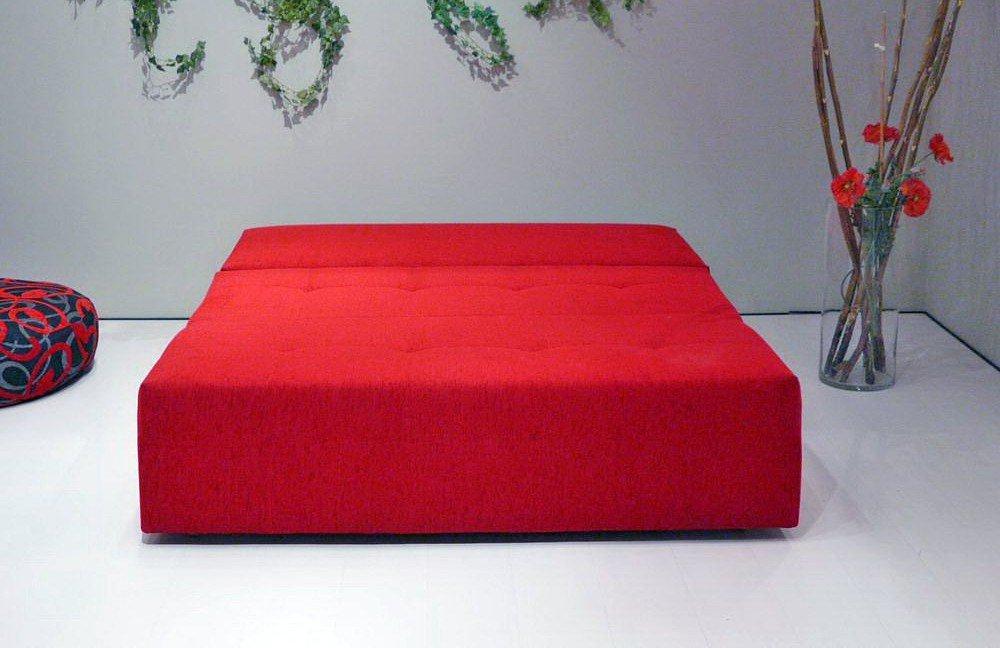 Solino von nehl schlafsofa rot schlafsofas online kaufen for Schlafsofa rot