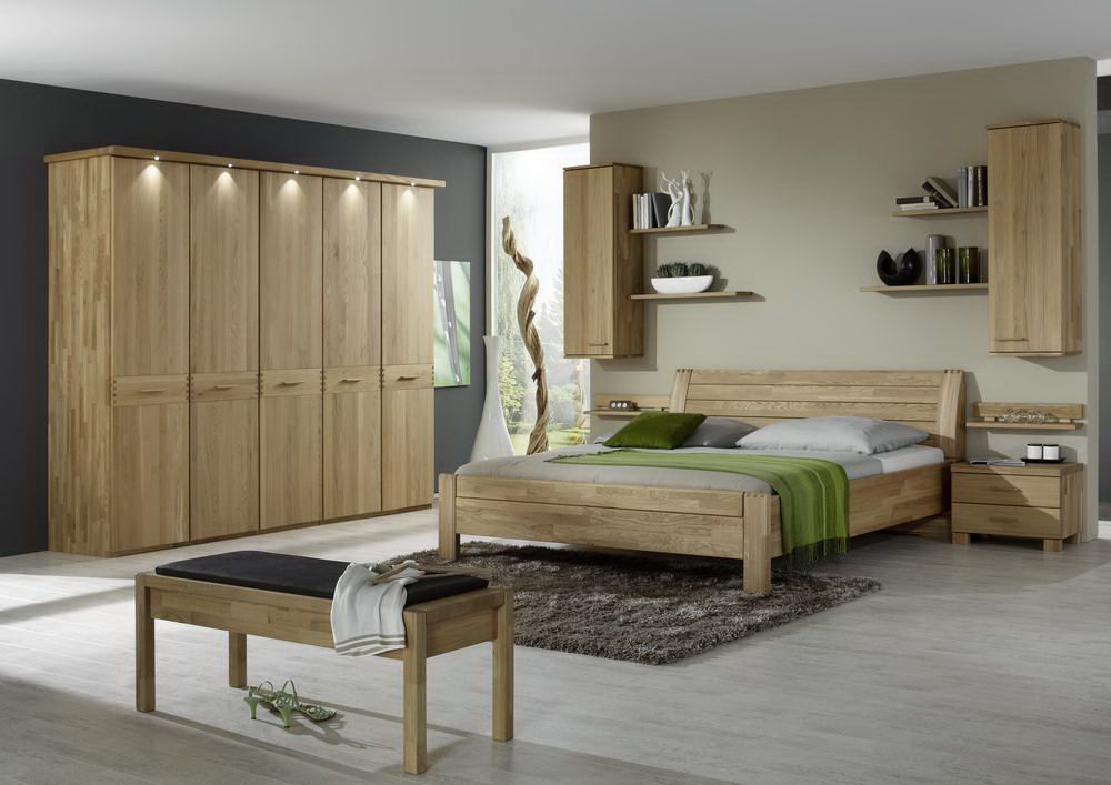 gent von wiemann schlafzimmer eiche massiv 1 online kaufen. Black Bedroom Furniture Sets. Home Design Ideas