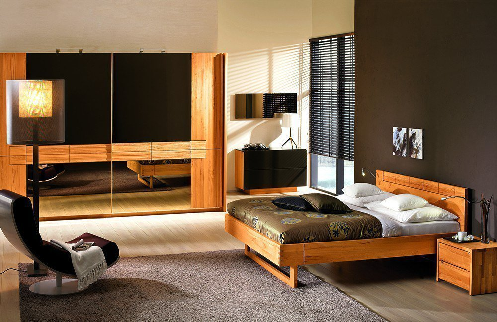 v rivera von voglauer schlafzimmer kernbuche 1. Black Bedroom Furniture Sets. Home Design Ideas