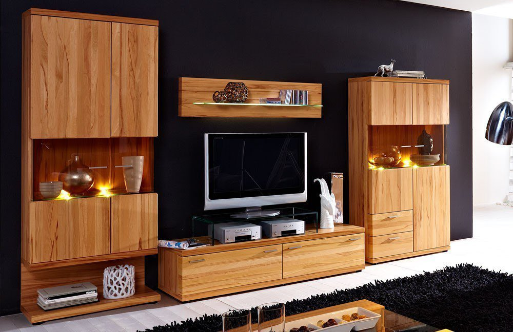 wohnwand finesse von schr der m bel m bel letz ihr online shop. Black Bedroom Furniture Sets. Home Design Ideas