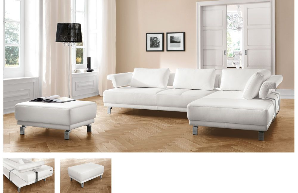 melton magic von candy ecksofa wei. Black Bedroom Furniture Sets. Home Design Ideas