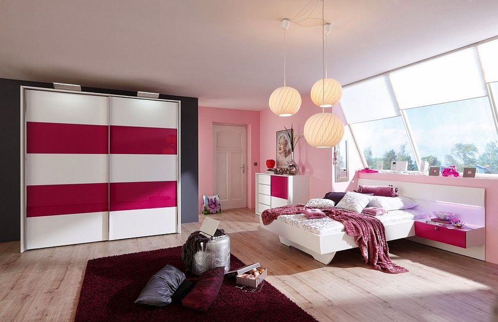 starlight girl von nolte delbr ck jugendzimmer wei pink 1. Black Bedroom Furniture Sets. Home Design Ideas