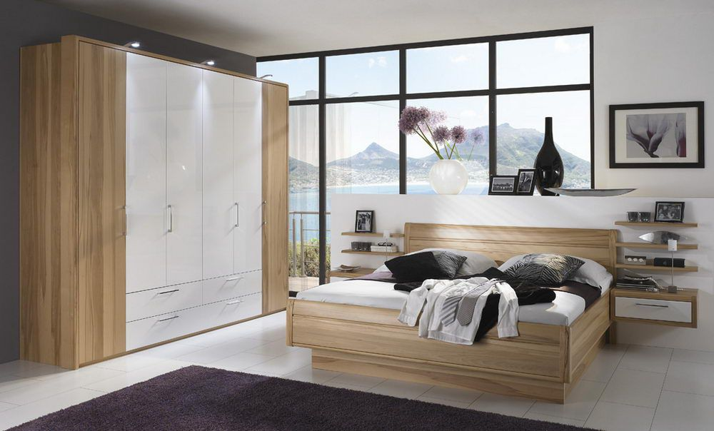 cupero von disselkamp schlafzimmer kernbuche crema. Black Bedroom Furniture Sets. Home Design Ideas