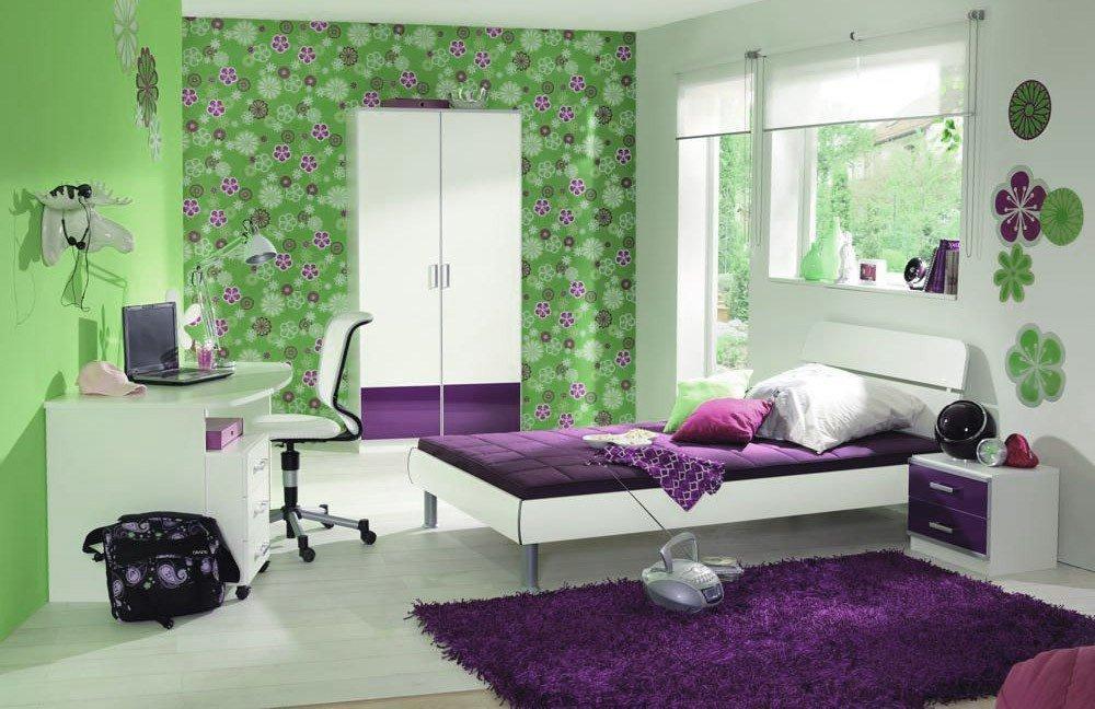 jugendzimmer finn wei lila von wellem bel m bel letz. Black Bedroom Furniture Sets. Home Design Ideas