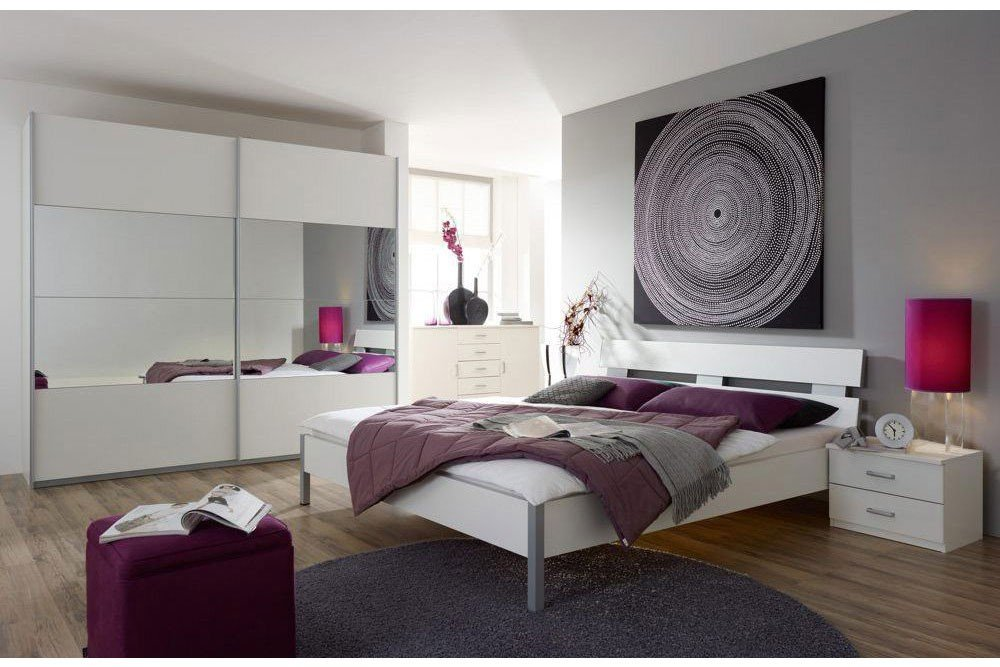 schlafzimmer quadra emmy mit spiegel von rauch pack s m bel letz ihr online m belhaus. Black Bedroom Furniture Sets. Home Design Ideas