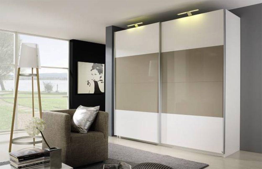 kleiderschrank hochglanz beluga plus von rauch m bel letz ihr online m belhaus. Black Bedroom Furniture Sets. Home Design Ideas