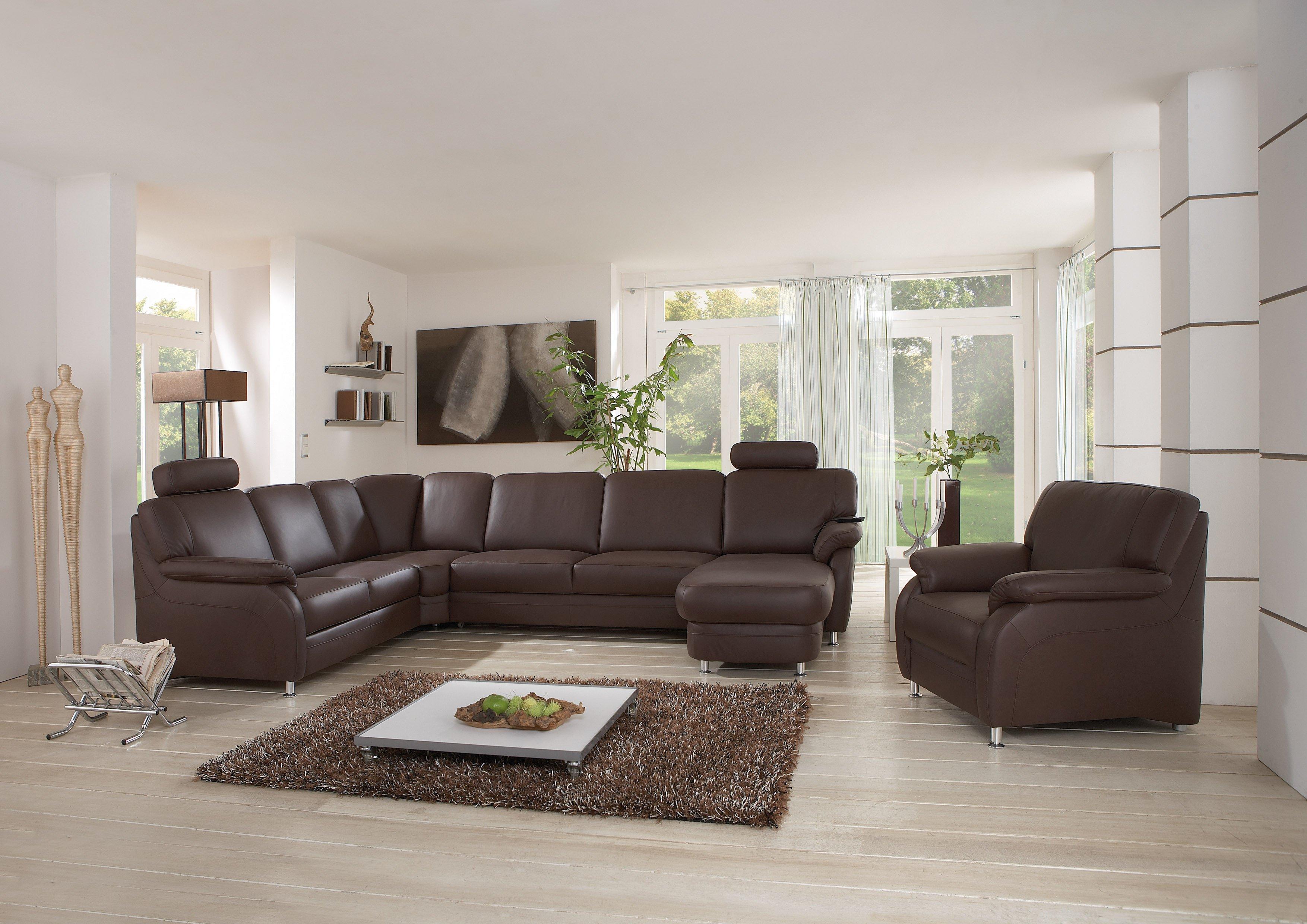wohnlandschaft leder von polinova polsterm bel m bel letz ihr online m bel shop. Black Bedroom Furniture Sets. Home Design Ideas