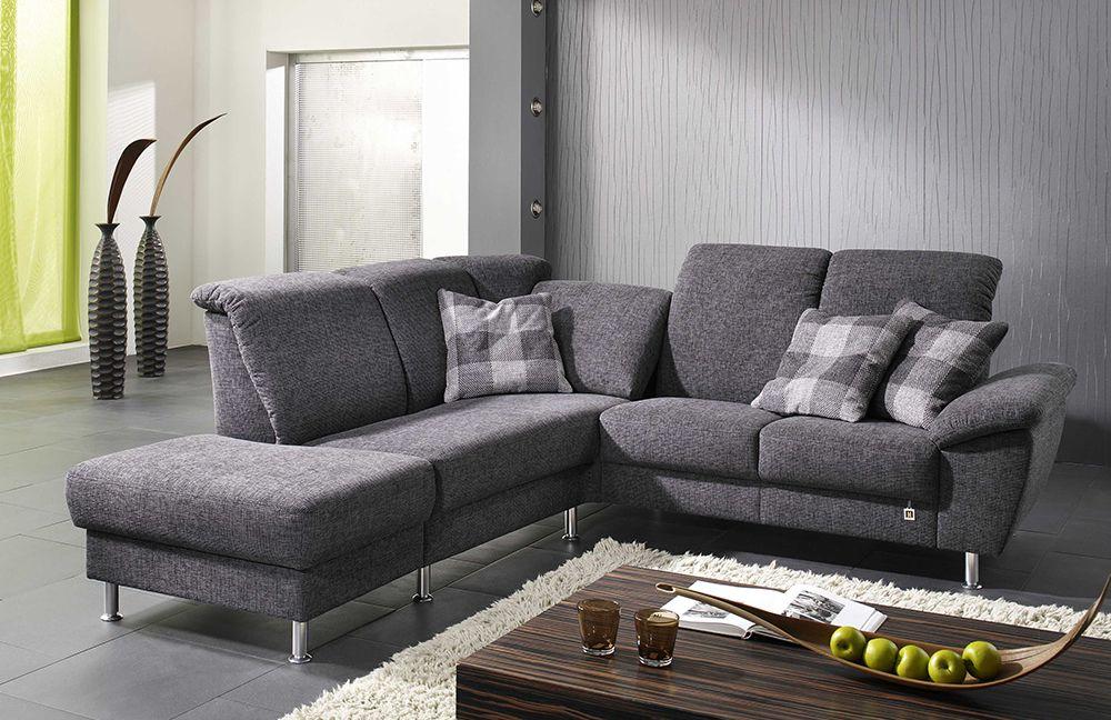 ecksofa domino anthrazit von f s polsterm bel m bel letz ihr online shop. Black Bedroom Furniture Sets. Home Design Ideas