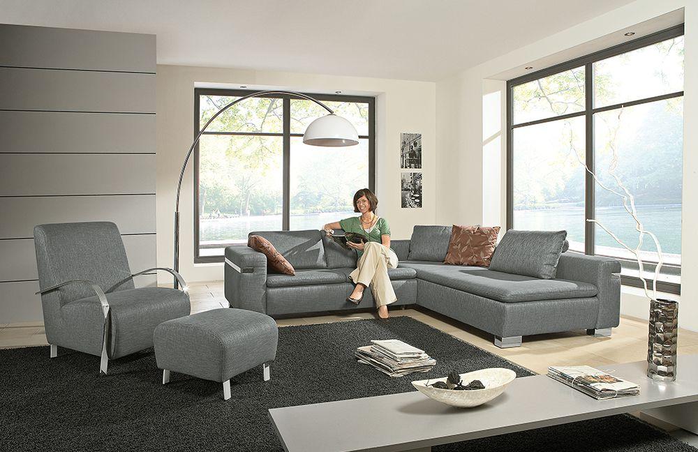 almera von pm oelsa polstergarnitur graphit. Black Bedroom Furniture Sets. Home Design Ideas