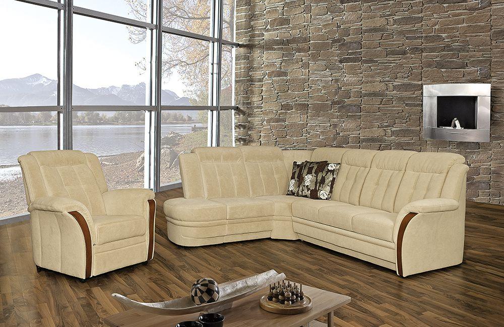 andorra von pm oelsa polstergarnitur beige. Black Bedroom Furniture Sets. Home Design Ideas