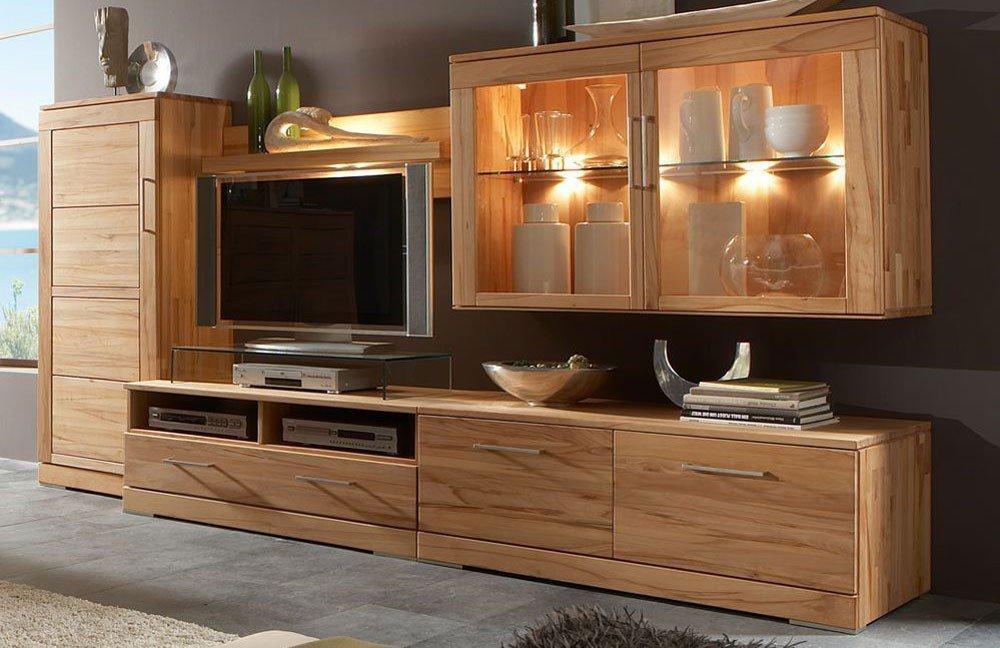 casera von wimmer wohnwand c 3300 wohnzimmer online kaufen 39. Black Bedroom Furniture Sets. Home Design Ideas