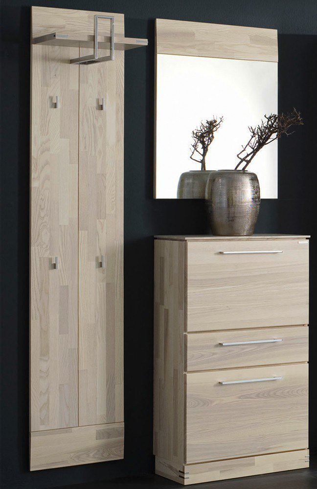 garderobe terra set 12 massiv von bienenm hle m bel letz ihr online shop. Black Bedroom Furniture Sets. Home Design Ideas