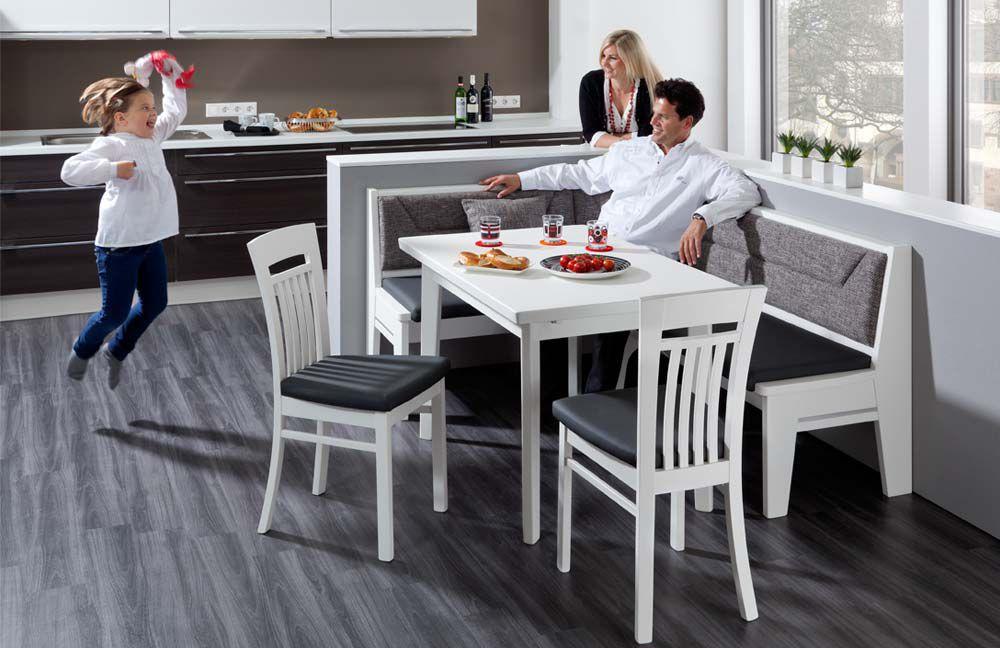 stockholm 730 von elro sitzm bel eckbankgruppe wei. Black Bedroom Furniture Sets. Home Design Ideas