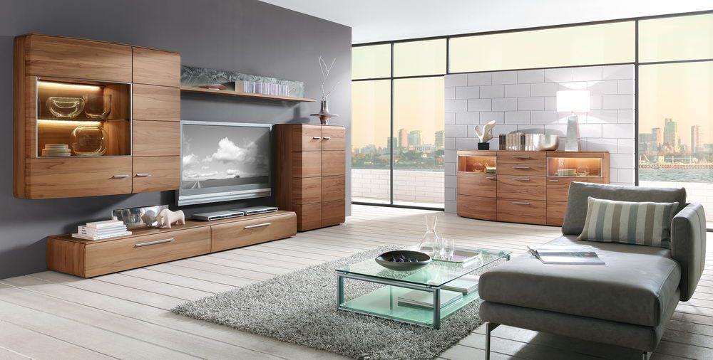 trento von hartmann wohnwand kernbuche 5 wohnzimmer online. Black Bedroom Furniture Sets. Home Design Ideas