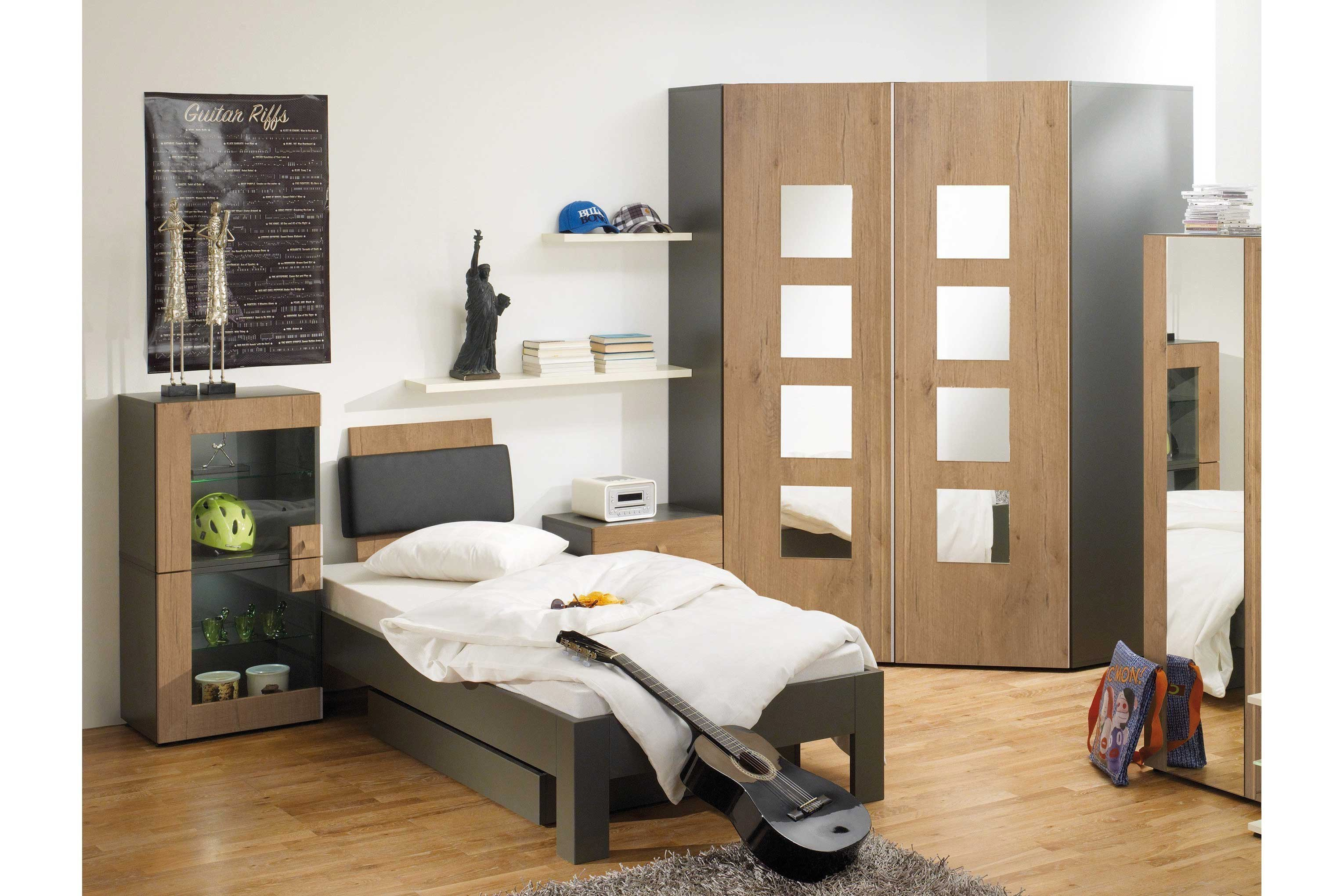 jugendzimmer fifty two absetzungen t rkis und grau von rudolf m bel letz ihr online shop. Black Bedroom Furniture Sets. Home Design Ideas