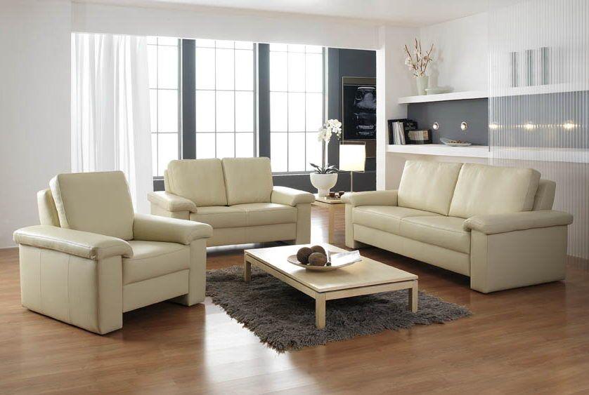 advance line von fm munzer ledergarnitur creme polsterm bel g nstig online kaufen sofa couch. Black Bedroom Furniture Sets. Home Design Ideas