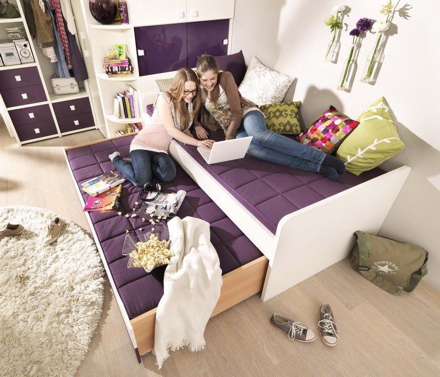 Jugendzimmer unlimited von wellem bel wei lila m bel for Welle jugendzimmer 5