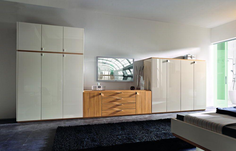 skyline von nolte delbr ck schlafzimmer kernbuche creme 2. Black Bedroom Furniture Sets. Home Design Ideas