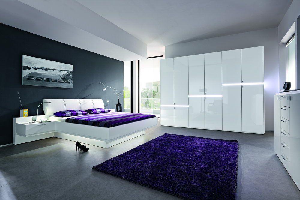 Komplett Schlafzimmer Weiss Hochglanz | Lilashouse