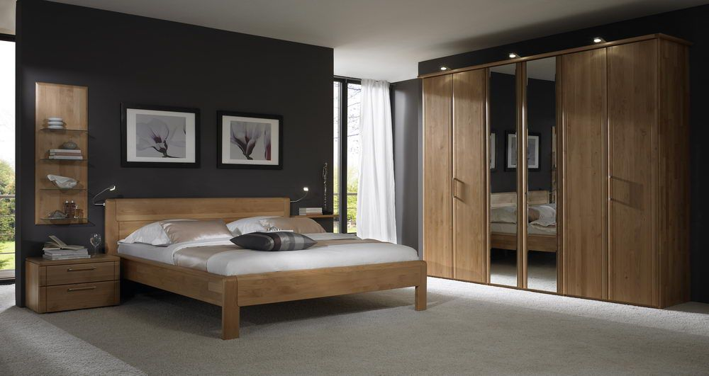 cato m von disselkamp schlafzimmer erle massiv. Black Bedroom Furniture Sets. Home Design Ideas