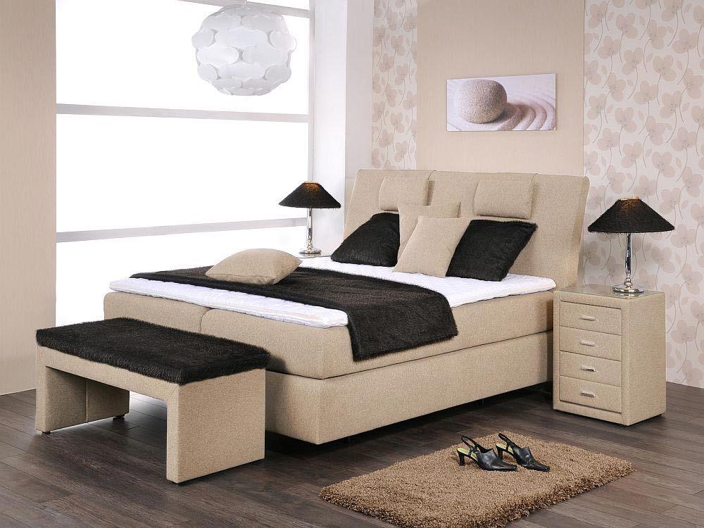 royal von oschmann boxspringbett beige. Black Bedroom Furniture Sets. Home Design Ideas