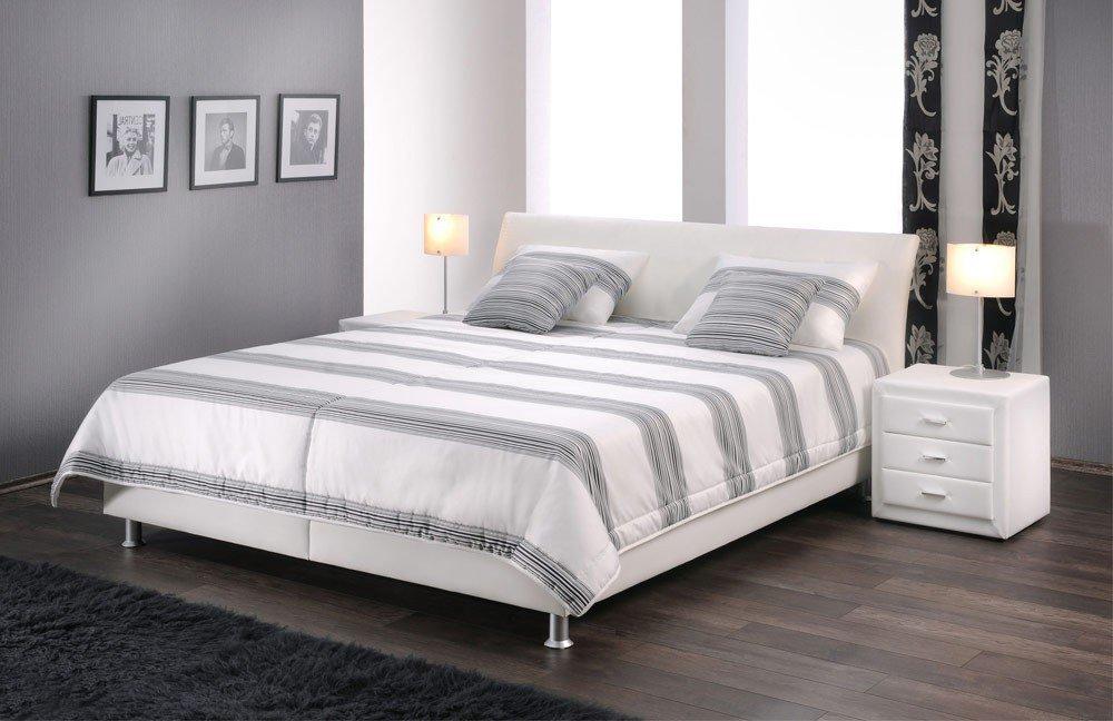 lisa von oschmann polsterbett beige 2 betten online kaufen betten kleiderschr nke und. Black Bedroom Furniture Sets. Home Design Ideas