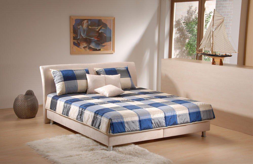 lisa von oschmann polsterbett beige mit motor betten. Black Bedroom Furniture Sets. Home Design Ideas