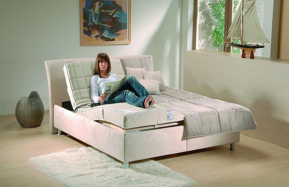 lisa von oschmann polsterbett beige mit motor betten online kaufen betten kleiderschr nke und. Black Bedroom Furniture Sets. Home Design Ideas