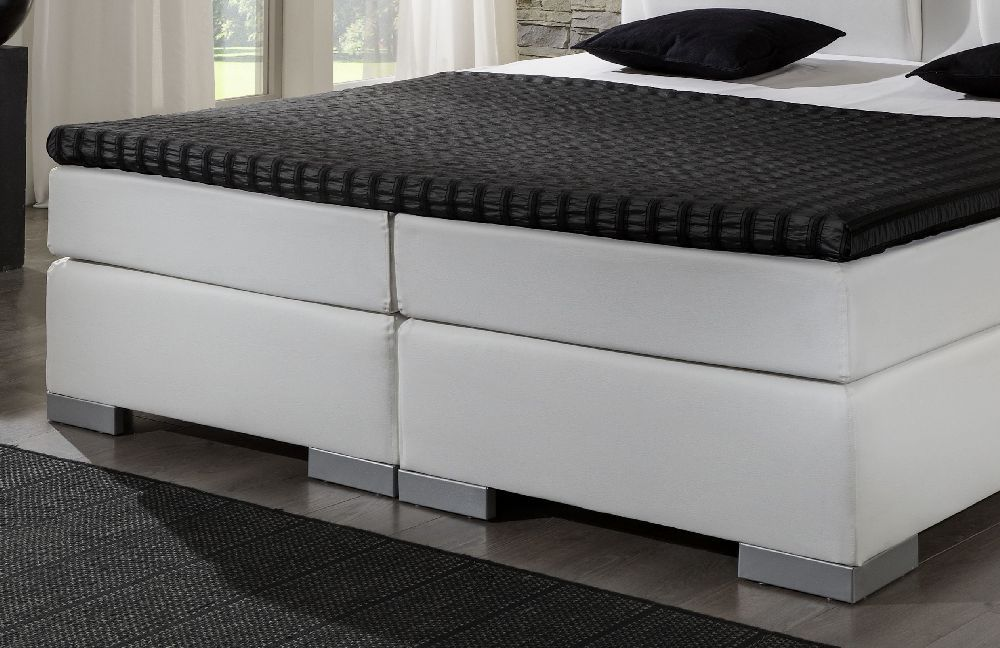 boxspringbett von dico m bel in wei bs9010 m bel letz ihr online shop. Black Bedroom Furniture Sets. Home Design Ideas