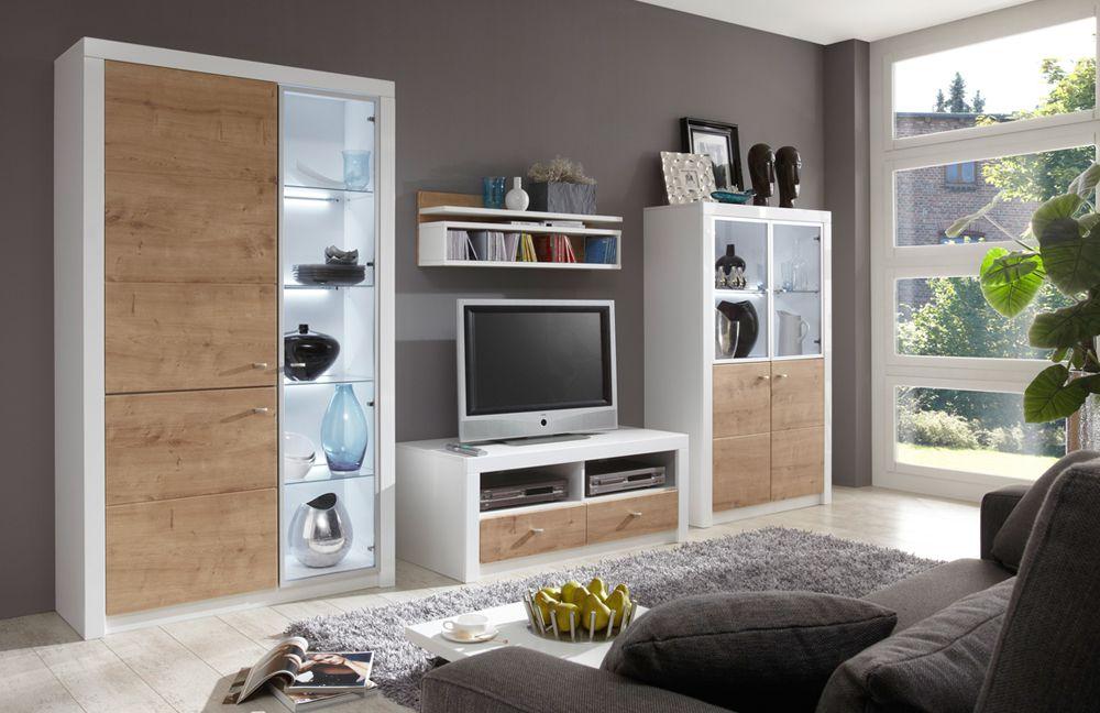 Solid von ideal wohnwand 52 for Wohnwand elemente zusammenstellen