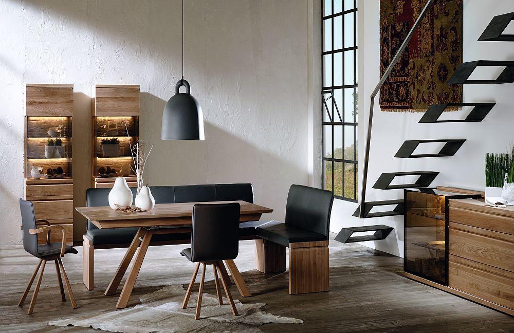 v loft von voglauer esszimmer wildeiche 1. Black Bedroom Furniture Sets. Home Design Ideas