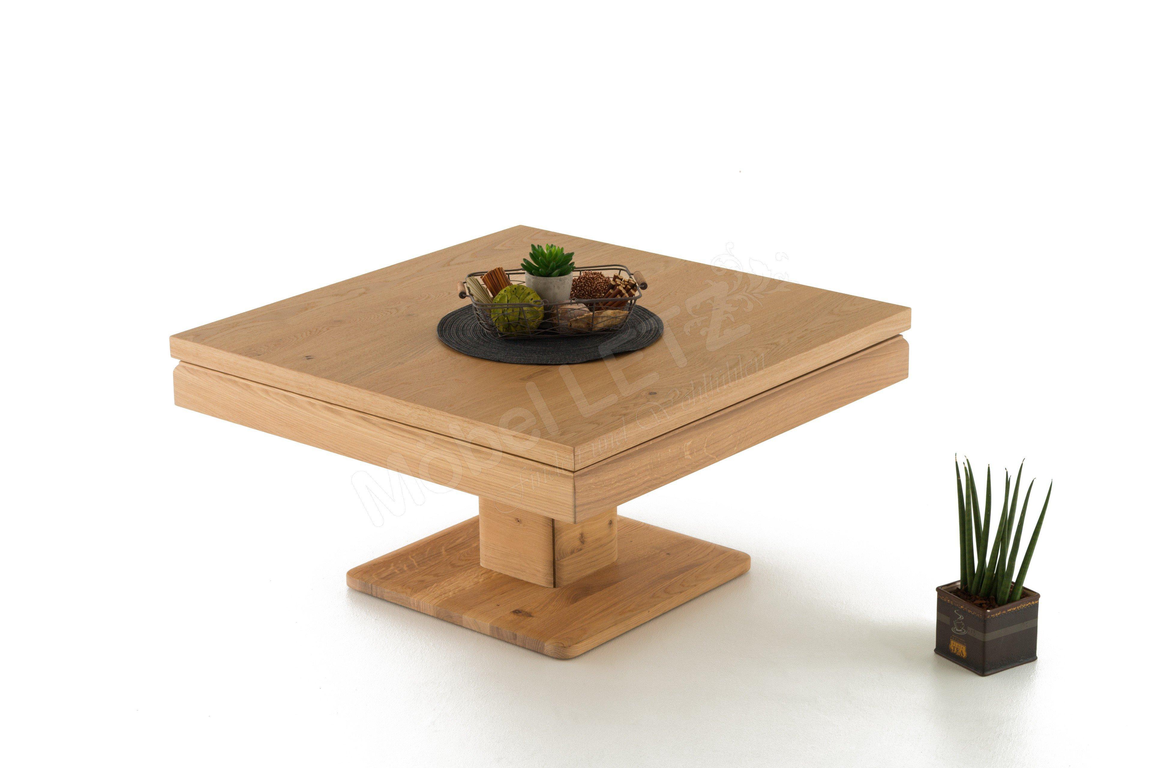 couchtisch quadratisch in wildeiche v loft von voglauer m bel letz ihr online shop. Black Bedroom Furniture Sets. Home Design Ideas