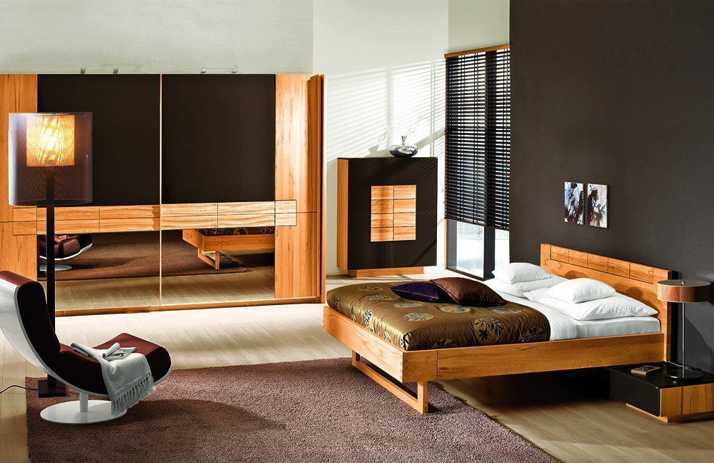 v rivera von voglauer schlafzimmer kernbuche 2 online kaufen betten kleiderschr nke und. Black Bedroom Furniture Sets. Home Design Ideas