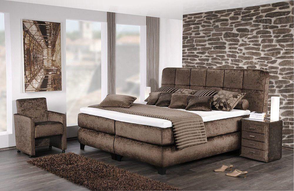 boxspringbett imperial von oschmann braun m bel letz ihr online shop. Black Bedroom Furniture Sets. Home Design Ideas