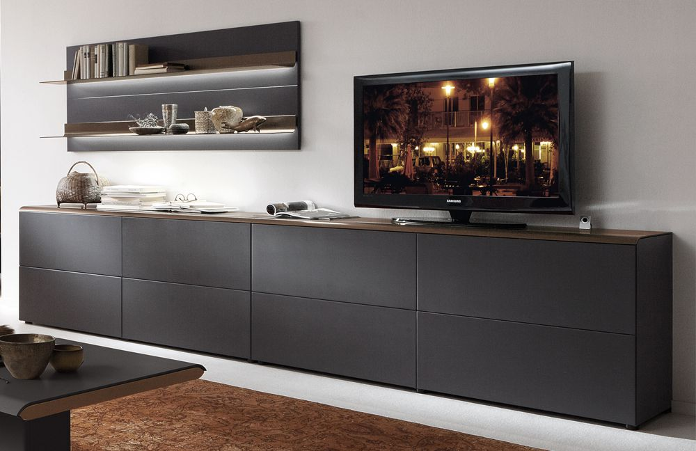 Studio 200 von holtkamp wohnwand 5004 wohnzimmer online for Wohnwand exklusiv