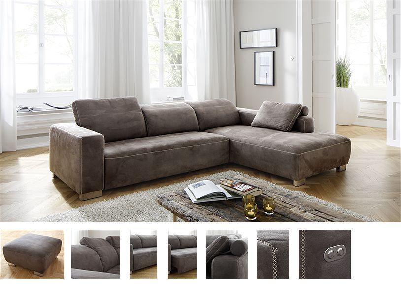 dreamer von candy eckcouch anthrazit polsterm bel g nstig. Black Bedroom Furniture Sets. Home Design Ideas