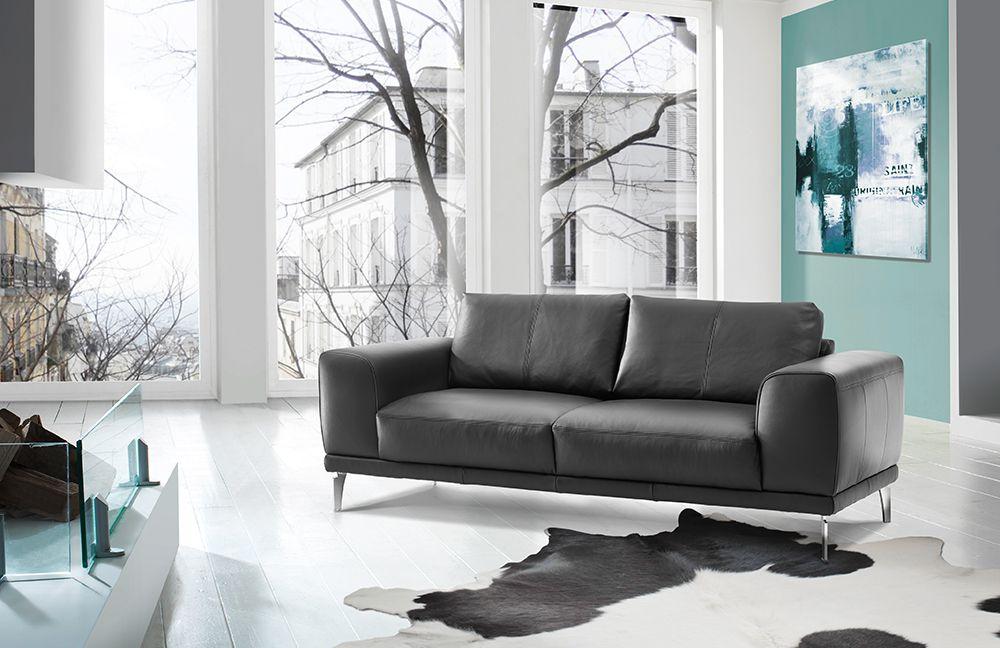 scala von ponsel ledersofa grau polsterm bel g nstig online kaufen sofa couch schlafsofa zum. Black Bedroom Furniture Sets. Home Design Ideas