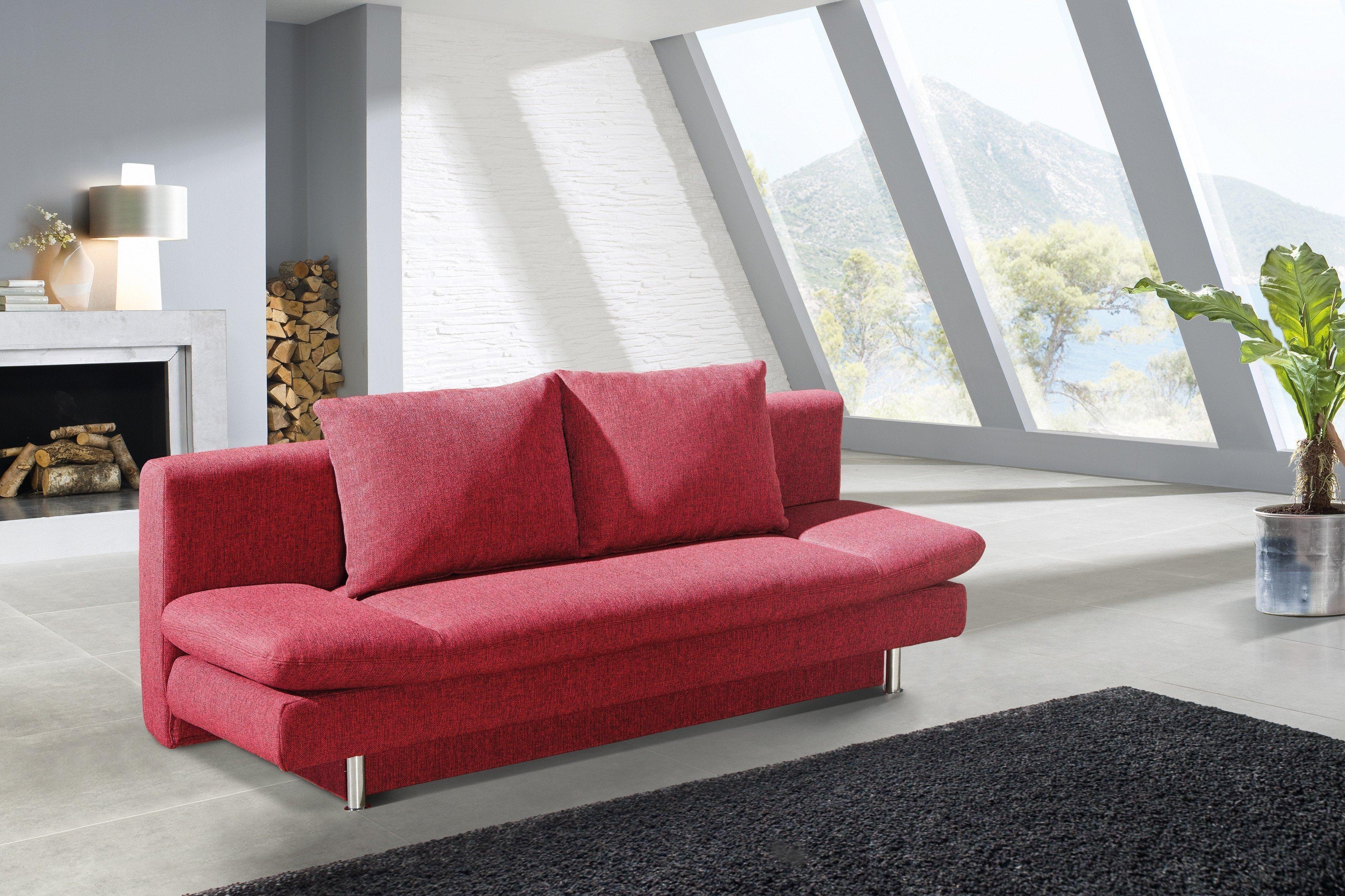 olivia von restyl schlafsofa braun schlafsofas online kaufen betten kleiderschr nke und. Black Bedroom Furniture Sets. Home Design Ideas
